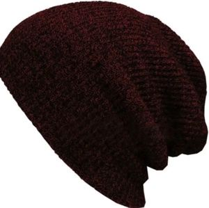 Other - ♥️New wine colored red slouchy hat last 1